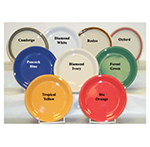 GET NP-7-RD 7-1/4 in Plate, Melamine, Rodeo