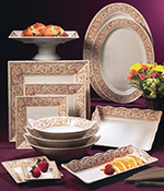 GET OP-621-OL 21 in Oval Catering Platter, Melamine, Olympia