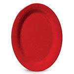 GET OP-320-RSP 11 in Oval Platter, Melamine, Red Sensation