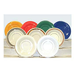 GET SU-3-RD 5-1/2 in Saucer, Melamine, Rodeo
