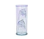 GET SW-1411-BLU 15 oz Dolphin Glass, Specialty, Blue, SAN Plastic