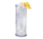 GET SW-1412-BLU 15 oz Mermaid Glass, Specialty, Blue, SAN Plastic