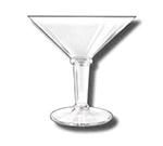 GET SW-1419-CL 48 oz Super Martini, Clear, SAN Plastic