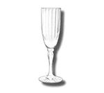 GET SW-1420-CL 6 oz Champagne Glass, SAN Plastic