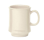 GET TM-1308-IV 8 oz Mug / Cup, Stacking, Ivory