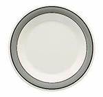 GET WP-7-CA 7-1/2 in Plate, Wide Rim, Melamine, Cambridge
