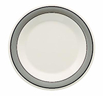 GET WP-9-CA 9 in Plate, Wide Rim, Melamine, Cambridge
