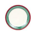 GET WP-9-PO 9 in Plate, Wide Rim, Melamine, Portofino