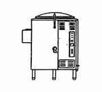 Market Forge F40L Kettle, Direct Steam 40-Gallon Capacity, Tri-Leg