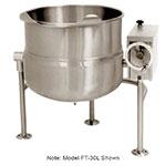 Market Forge FT100L Tilting Kettle, Direct Steam, 100 Gallon Capacity, Tri-Leg Base