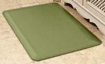 Wellness Mats 32SC103A Solid Pattern Decorative Mat Cover, 3 x 2-ft, Deep Celadon