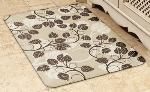 Wellness Mats 32SC109A Entwine Pattern Decorative Mat Cover, 3 x 2-ft, Almond Mocha