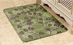 Wellness Mats 32SC111A Entwine Pattern Decorative Mat Cover, 3 x 2-ft, Celadon Mocha
