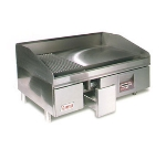Lang 224ZC NG 24-in Griddle w/ 1.25-in Chrome Plate, Computer Controls, NG