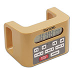 Taylor 5839 Battery Operated 4 Event Timer w/ LCD Display, Water Resistant