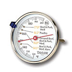 Taylor 5939N Meat Thermometer w/ 2.75-in Dial Display, 120 to 200 F Degrees