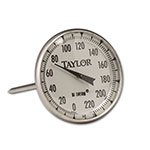 Taylor 61054J Roast Meat Thermometer w/ 2-in Dial Display, 0 to 220 F Degrees