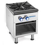 Imperial ISPA-18 Stock Pot Range, 1 Three Ring Burner w/Cast Iron Top, Propane