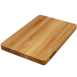 John Boos 215 Maple Chop-N-Slice Reversible Cutting Board, 10 x 10 x 1 in, Edge Grain