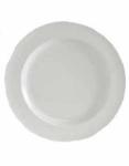 Tuxton AMU002 6-1/4-in Modena Plate, Pearl White