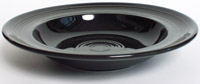Tuxton CBD-090 Rim Soup Bowl, 12 oz, 9 in Concentrix Black