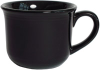 Tuxton CBF-0702 Cup, 7 oz, 3-1/2 in Round, Concentrix Black