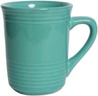 Tuxton CTM-085 Gala Mug, 8 oz, 3 in, Concentrix Cilantro