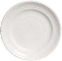 Tuxton CWA-120 Plate, 12 in, Concentrix Blanco