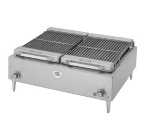 Wells B-50 208 36-in Charbroiler w/ Cast Iron Grates, 208/3 V