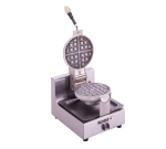 Wells BWB1S Belgian Waffle Baker, Single Round w/ Solid State Controls & Timer