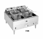 Wells F-85 400 30-lb Fryer w/ Dual Pots & Safety Test, Thermostatic, Export