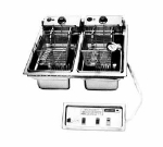 Wells F-856 208 30-lb Drop In Fryer w/ Dual Pots & Safety Test, Thermostatic, 208/3 V