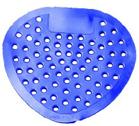 Impact 1451 Urinal Screen,  Red/Cherry