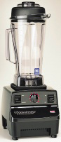 Vita Mix 1002 Food Blender w/ 64-oz Clear Container, Variable Speed & Black Base