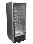 Carter Hoffmann HBU8A1GM 1/2-Height Heated Cabinet w/ Universal Slides, 16-Pans, ETL