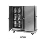 Carter Hoffmann BB1200 Heated Banquet Cabinet w/ Canned Fuel Doors, 2-Door, 120-Plates