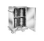 Carter Hoffmann BB40 W/C Heated Banquet Cabinet w/ Plate Carriers, 48-Plates, Stainless