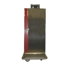Carter Hoffmann BB700 Heated Banquet Cabinet w/ 60-Plate Capacity, Casters, Stainless