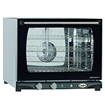 Cadco XAF133 Half Size Convection Oven w/ Manual Controls, 208-240 V