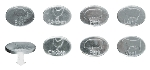 Chef Master 40162X 8-Piece BBQ Badges, Selection Collection