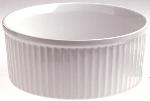Revol 638800 6-in Porcelain Souffle Dish w/ 30-oz Capacity, White