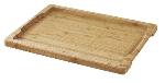 Revol 641661 14.75-in Bamboo Tray For Basalt Slate Steak Plate