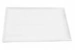 Mayfair 520L Large Rectangular Porcelain Daru Tray, 14 x 9-in, White