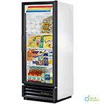 TRUE Refrigeration GDM-12 Refrigerated Merchandiser, 1 Section/Glass Door, 3 Shelves, 12 cu ft