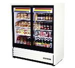 TRUE Refrigeration GDM-41SL-54 Convenience Store Cooler,  2 Sec/Glass Slide Drs, 6 Shelves, 17 cu ft