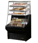 TRUE Refrigeration THAC-36DG 36-in Air Curtain Merchandiser, Refrigerated & Dry Goods Section