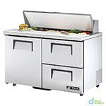 TRUE Refrigeration TSSU-48-12D-2-ADA 48 in ADA Compliant Sandwich/Salad Unit, 12 Pans/1 Door/2 Drawers, 12 cu ft