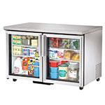 TRUE Refrigeration TUC-48G-ADA 49 in ADA Compliant Undercounter Refrigerator, 2 Glass Doors, 12 cu ft