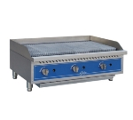 Globe GCB15G 15-in Radiant Charbroiler w/ Angled or Flat Position, NG/LP