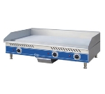 Globe GEG48 48-in Countertop Griddle w/ Heavy Duty Stainless Plate, 208/240 V